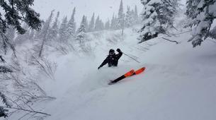 Ski Hors-piste-Les Sybelles-Session de ski hors-pistes dans Les Sybelles-1