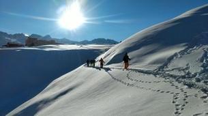 Snowshoeing-Chamonix Mont-Blanc-Snowshoeing excursion in Chamonix-3