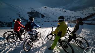 Fat Bike-Les Sybelles-VTT de descente sur neige à Saint-Sorlin d'Arves, Les Sybelles-3