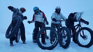 Fat Bike-Les Sybelles-VTT de descente sur neige à Saint-Sorlin d'Arves, Les Sybelles-2