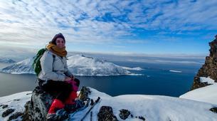 Raquette à Neige-Tromsø-Snowshoe Excursion on Kvaløya island from Tromsø-5