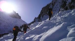 Snowshoeing-Chamonix Mont-Blanc-Snowshoeing excursion at the peak of Chamonix-Mont-Blanc-2