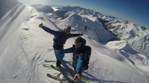 Ski touring-Les Sybelles-Ski touring in Les Sybelles-1