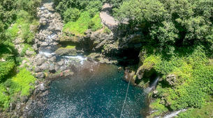Canyoning-Langevin River, Saint-Joseph-Grand Galet canyon in Reunion Island-4
