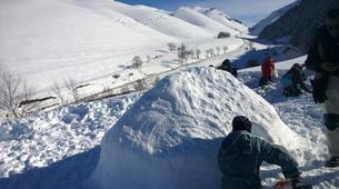 Snowshoeing-Saint-Lary-Soulan-Snowshoeing initiation near Saint-Lary-1