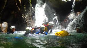 Canyoning-La Soufrière-Canyon de Vauchelet à Basse-Terre, Guadeloupe-3