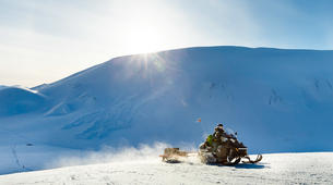 Snowmobiling-Svalbard-Barentsburg Snowmobile Excursion in Svalbard-1