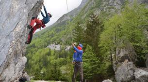 Klettern-Bovec-Rock climbing session near Bovec-6