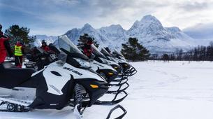 Motoneige-Tromsø-Snowmobile safari from Tromsø-2