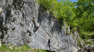 Klettern-Bovec-Rock climbing session near Bovec-3