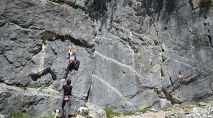 Klettern-Bovec-Rock climbing session near Bovec-4