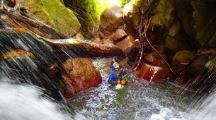 Canyoning-La Soufrière-Canyon de Vauchelet à Basse-Terre, Guadeloupe-1