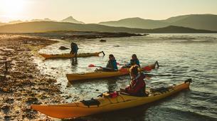 Kayak de mer-Tromsø-Midnight Sun sea kayaking in Tromsø-3
