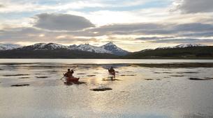 Kayak de mer-Tromsø-Midnight Sun sea kayaking in Tromsø-5
