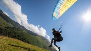Paragliding-Ariege-Stage Initiation de Parapente à Foix, près de Toulouse-2