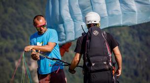 Paragliding-Ariege-Stage Initiation de Parapente à Foix, près de Toulouse-5