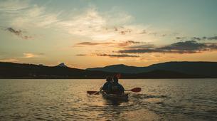 Kayak de mer-Tromsø-Midnight Sun sea kayaking in Tromsø-6