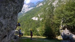 Klettern-Bovec-Rock climbing session near Bovec-5