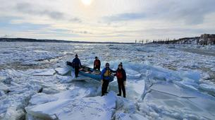 Kayaking-Quebec-Ice Canoe Experience & Spa in Quebec-7