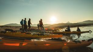 Kayak de mer-Tromsø-Midnight Sun sea kayaking in Tromsø-1