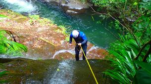 Canyoning-La Soufrière-Canyon de Ravine Chaude en Guadeloupe-2