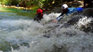 Canyoning-Pointe-Noire-Randonnée Aquatique dans la Rivière de Grande Plaine, Guadeloupe-2