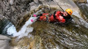 Canyoning-Cirque de Salazie, Hell-Bourg-Canyon of Trou Blanc in La Reunion-7