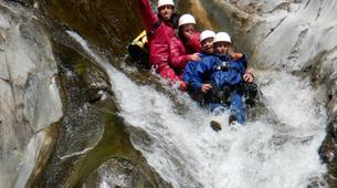 Canyoning-Cirque de Salazie, Hell-Bourg-Canyon of Trou Blanc in La Reunion-11