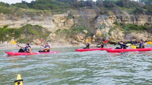 Kayak de mer-Normandie-Randonnée Kayak de mer le long des Falaises de Normandie-1