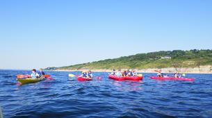 Kayak de mer-Normandie-Randonnée Kayak de mer le long des Falaises de Normandie-3