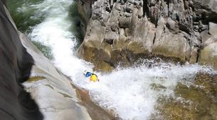Canyoning-Cirque de Salazie, Hell-Bourg-Canyon du Trou Blanc à La Reunion-4