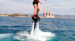 Flyboard / Hoverboard-Barcelone-Sessions Flyboard à Port Forum, à Barcelone-2