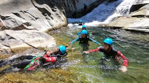 Canyoning-Cirque de Salazie, Hell-Bourg-Canyon of Trou Blanc in La Reunion-6