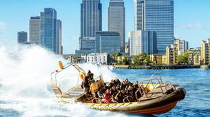 Jet Boating-London-Jet Boating the Thames Barrier-2