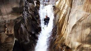 Canyoning-Cirque de Salazie, Hell-Bourg-Canyon of Trou Blanc in La Reunion-3