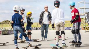 Skateboarding-Anglet-Skateboarding lesson in the Basque Country near Bayonne-1