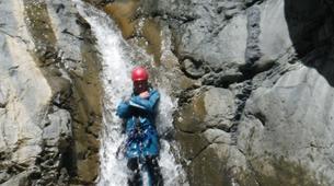 Canyoning-Cirque de Cilaos-Canyon du Bras Rouge à La Reunion-14