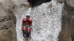 Canyoning-Cirque de Salazie, Hell-Bourg-Canyon of Trou Blanc in La Reunion-9