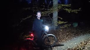 Mountain bike-Krakow-Night ride mountain biking in Krakow-4