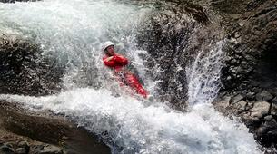 Canyoning-Langevin River, Saint-Joseph-Canyoning on Langevin River in La Reunion-13