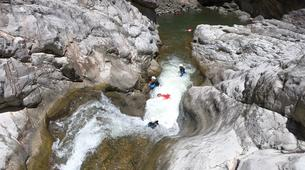 Canyoning-Cirque de Salazie, Hell-Bourg-Canyon of Trou Blanc in La Reunion-5