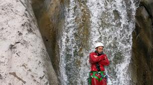 Canyoning-Cirque de Salazie, Hell-Bourg-Canyon of Trou Blanc in La Reunion-2