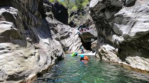 Canyoning-Cirque de Salazie, Hell-Bourg-Canyon of Trou Blanc in La Reunion-1