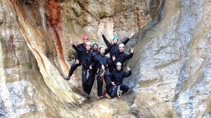 Canyoning-Cirque de Cilaos-Canyon du Bras Rouge à La Reunion-10