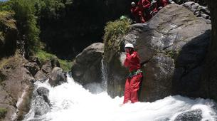 Canyoning-Langevin River, Saint-Joseph-Canyoning on Langevin River in La Reunion-4