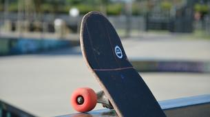 Skateboarding-Anglet-Skateboarding lesson in the Basque Country near Bayonne-2