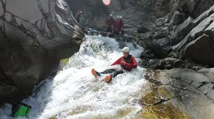 Canyoning-Cirque de Salazie, Hell-Bourg-Canyon of Trou Blanc in La Reunion-4