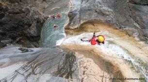 Canyoning-Cirque de Cilaos-Canyon du Bras Rouge à La Reunion-1
