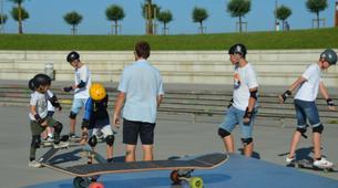 Skateboarding-Anglet-Skateboarding lesson in the Basque Country near Bayonne-3