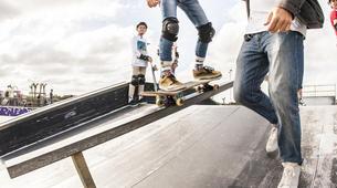 Skateboarding-Anglet-Skateboarding lesson in the Basque Country near Bayonne-6